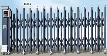 Cổng xếp nhôm hợp kim LB007A