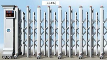 Cổng xếp inox LB007