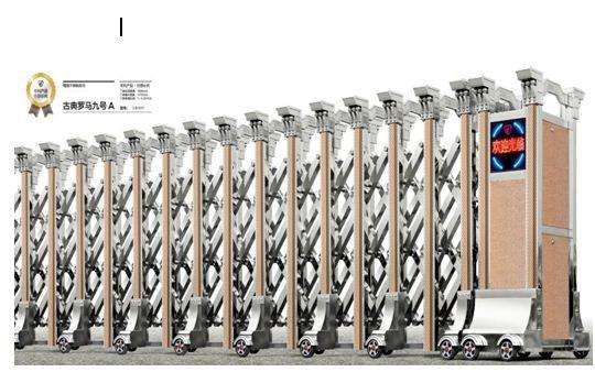Cổng Xếp Inox LB019