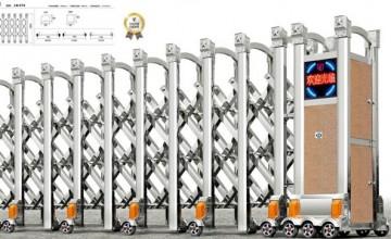 Cổng Xếp Inox LB076