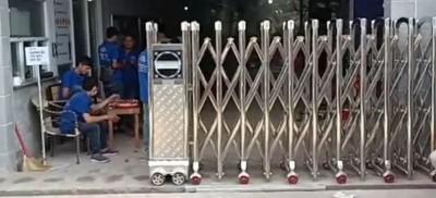 Cổng xếp inox Hồ Chí Minh