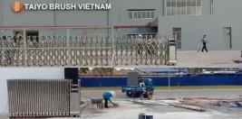 Cổng xếp inox 304- Trúng thầu tại Bình Dương, Biên Hòa, Đồng Nai