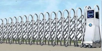 Cổng xếp inox LB181