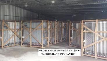 Phân biệt cổng xếp tự động nhập khẩu 100%  và hàng loại rẻ ráp tại Việt Nam