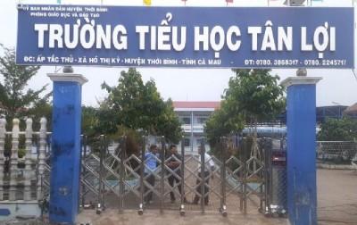 Cổng xếp inox LBSKY- Trúng thầu tại Cà Mau