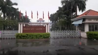 Cổng xếp tự động lắp tại Uỷ Ban Q12, Hồ Chí Minh