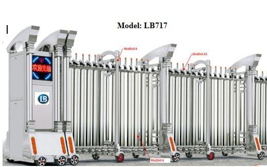 Cổng Xếp Inox LB717