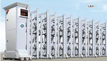 Cổng Xếp Nhôm Hợp Kim LB2C