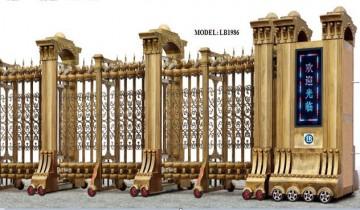 Cổng Xếp Nhôm Hợp Kim LB1986