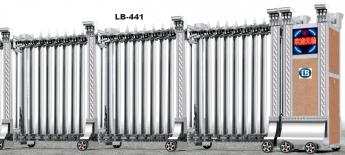 Cổng xếp inox LB441