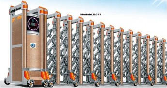 Cổng xếp inox LB044