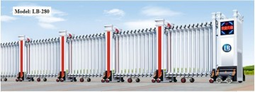 Cổng Xếp Nhôm Hợp Kim LB280