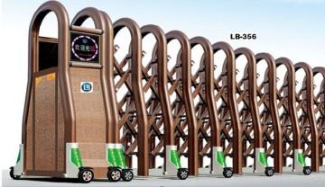 Cổng Xếp Nhôm Hợp Kim LB356