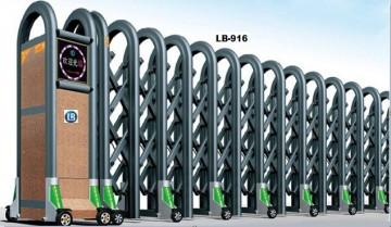 Cổng Xếp Nhôm Hợp Kim LB916