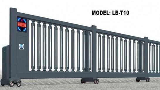 Cổng xếp trượt tự động LB-T10
